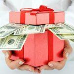 оподаткування подарунків
