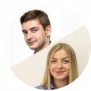 Костянтин Курильченко та Вікторія Корнеюк