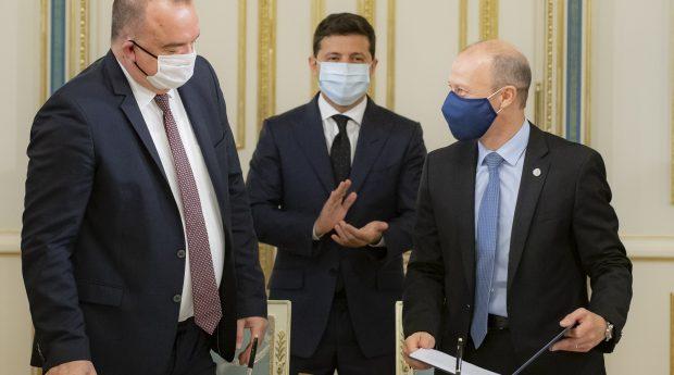 Петро Котін, Володимир Зеленський та Патрік Фраґман