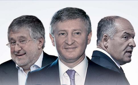 Ігор Коломойський, Рінат Ахметов, Віктор Пінчук